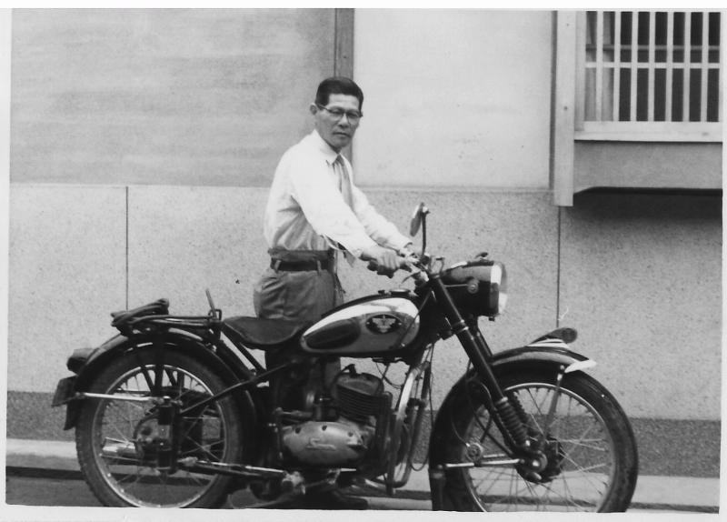 祖父のバイク