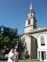 セントラルユニオン教会・大聖堂の芝生の庭