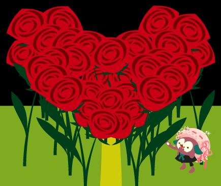 バラの花束を君に!