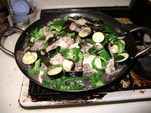 夏野菜第一段階