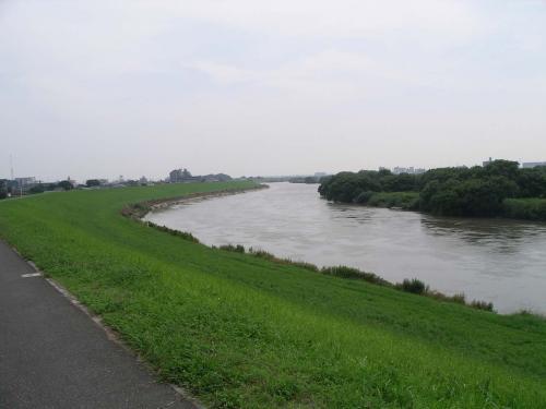 水量が多い江戸川