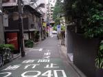 通院k5のある路地