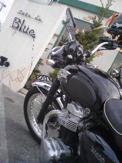 天気が良い日だったからバイクで行った♪