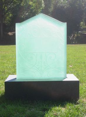 ガラス墓石