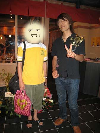 2009/07ジャイアント白田さんと