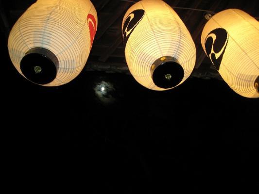 2008/10/12豊浜ちょうさ祭り満月
