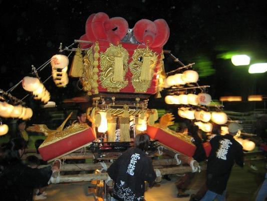 2008/10/12豊浜ちょうさ祭り子供ちょうさ