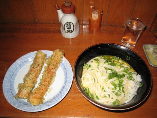 2008/10中村うどん釜玉