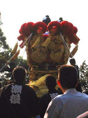 200810大野原八幡神社ちょうさ1