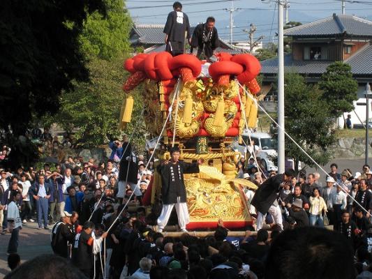 200810大野原八幡神社ちょうさ3