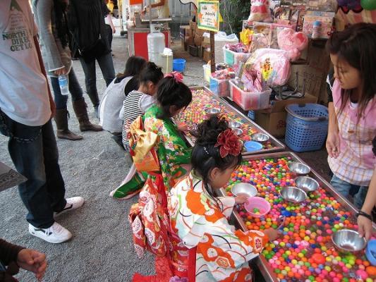 200810大野原八幡神社ちょうさ祭り、ボールすくい