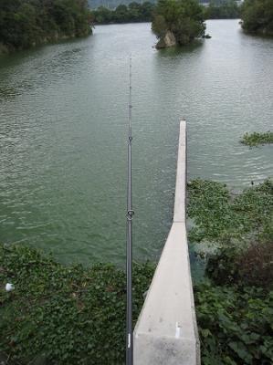 2008/10/27北條池からの流れ込み2