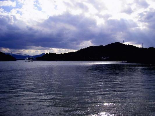 2008/10/27府中湖カヌー漕艇場の空