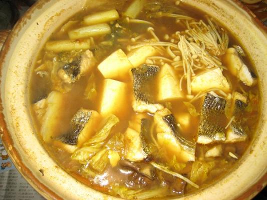 2008/11/13シーバスカレー鍋
