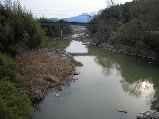 2009/01/26滝宮濁り2