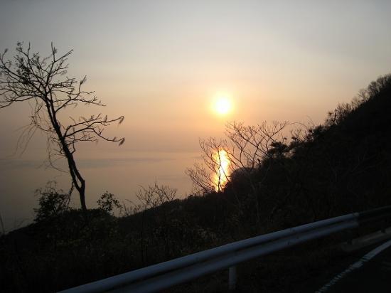 2009/04/06荘内半島の夕日1