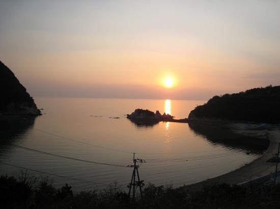 2009/04/06荘内半島の夕日2