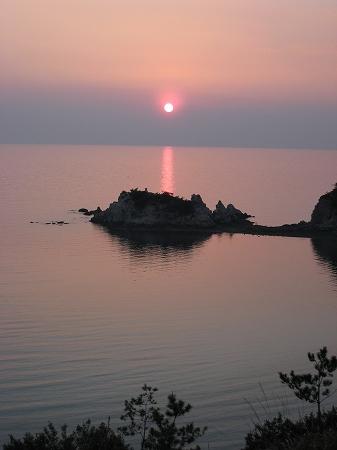 2009/04/06荘内半島の夕日3