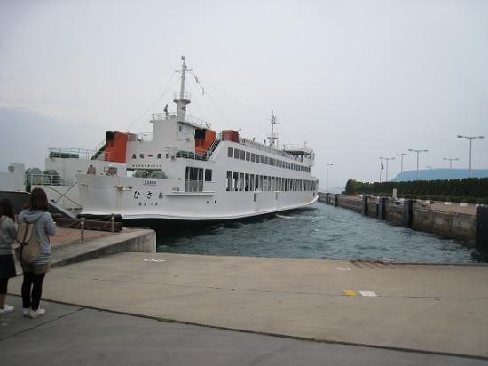2009/05直島行フェリー