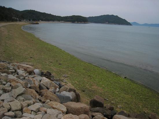 2009/05直島海岸線