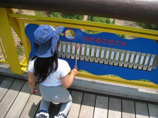 2009/6月/まんのう公園橋の上の鉄琴