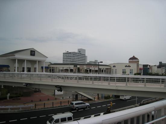 2009/07りんくうタウンから歩道橋