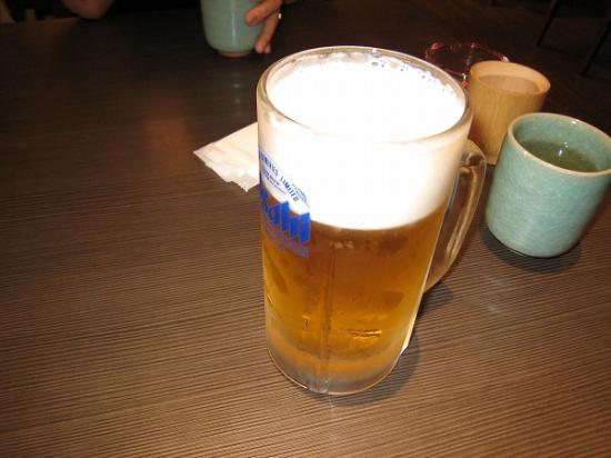 2009/07浜松屋 うな壱ビール