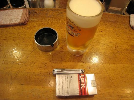 2009/07立呑酒処 赤垣屋ビール