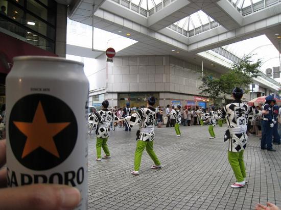 2009/08/10よさこいビール