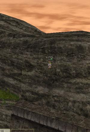 MoEには、何故か登れる壁が結構ありますよねw