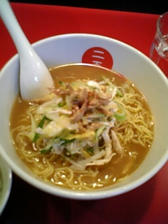 723二天味噌鶏麺