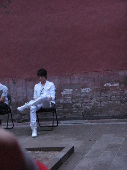 backstage in beijing