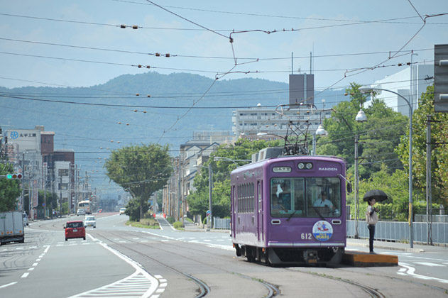 西大路三条/紫