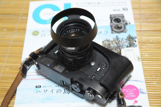 ライカM4ブラッククロームxズミルックス50mmF1.4
