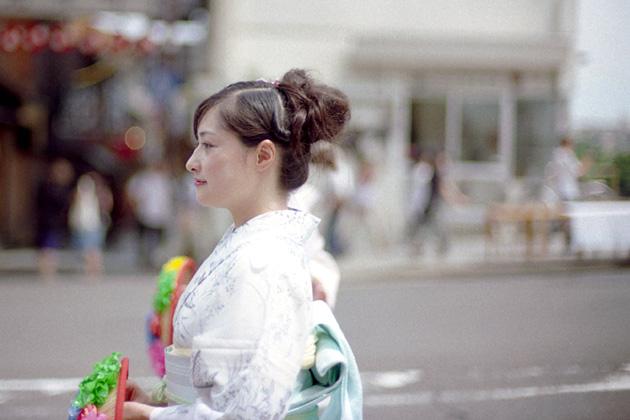 横顔/花笠巡行