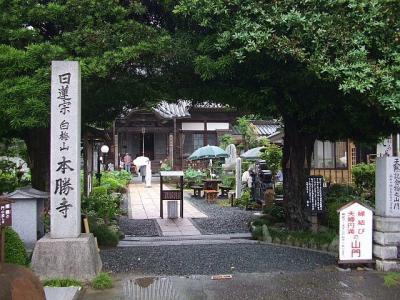 花の寺 本勝寺と地蔵庵 (1)
