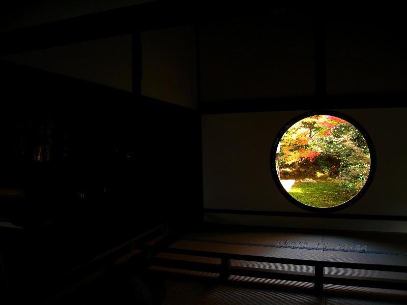 「禅と円通」の心、大宇宙を表す悟りの窓