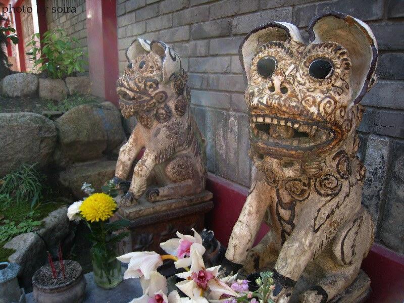 中国土着の神様?
