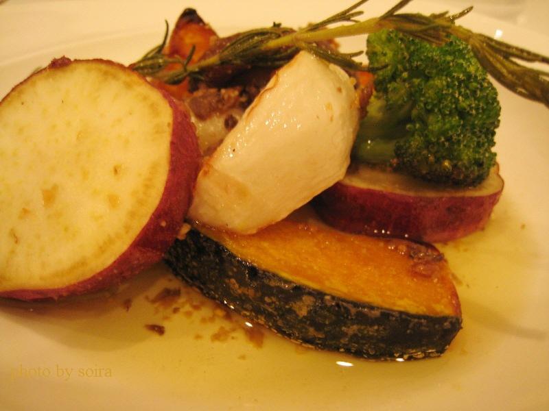 彩り野菜のロースト
