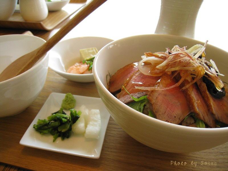 合鴨ロース煮と焼き京葱1
