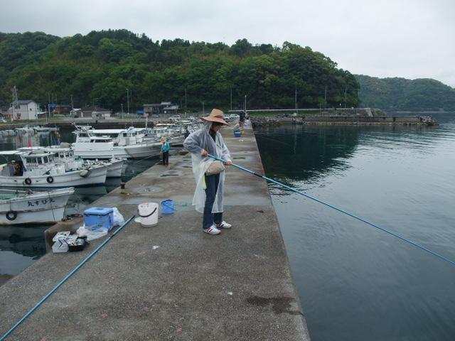 釣り中・・・