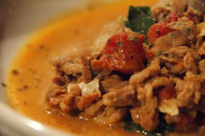 薄切り牛肉のトマト煮-2