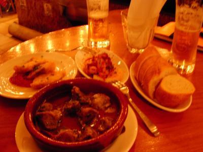 鶏砂肝のオリーブオイル煮