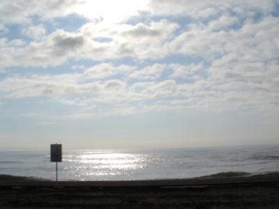 ある朝の一宮海岸