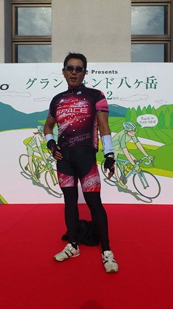グランフォンド八ヶ岳2011 お立ち台