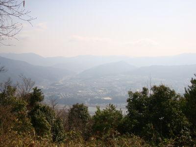 阿武山山頂からの風景