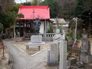 才蔵寺境内