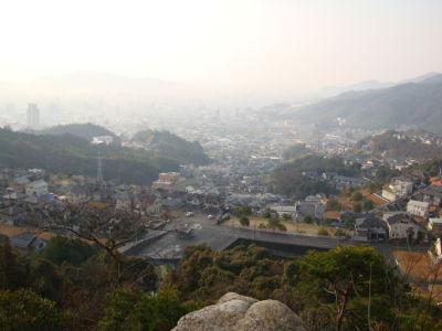 里見の岩からの風景
