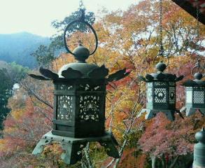 談山神社のもみじ