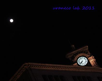 12月10日銀座の満月